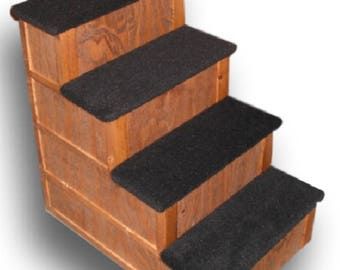 28 inch 4 Step Pet Stairs Bed Step