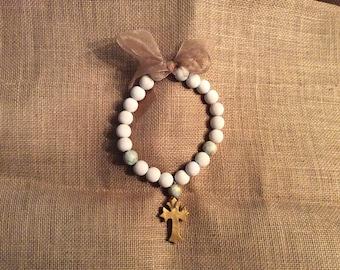 White Blessing Beads