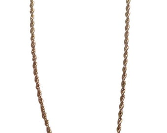 14k Gold Filled Chain Gold Chain Mens Necklace Mens Jewelry Yellow Gold Chain Mens Gold Chain Rope Chain Thick Chain Mens Gold Necklace