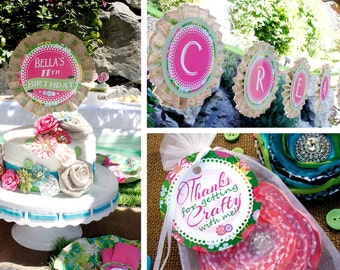 Garden Craft Party Package - Printable File