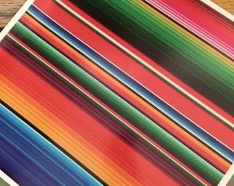 Serape Heat Transfer Vinyl 12x12 SheetSublimation and Iron On Vinyl