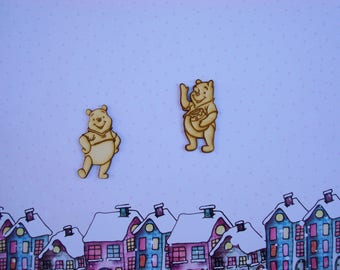 Teddy bear with his honey pot 01571 has