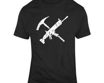 Fortnite Tools Of The Trade Video Game Distressed V2  T Shirt