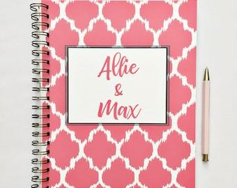 Custom Wedding planner, wedding planners, wedding planning guide, bride to be gift, engagement gift, bride wedding, wedding checklist