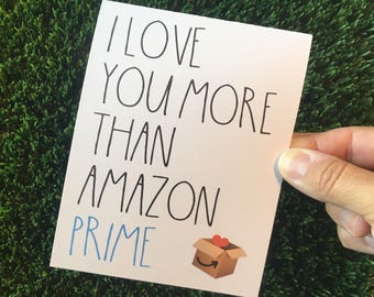 Funny I Love You Card / Funny Anniversary Card / Funny Valentine Card / Funny Relationship Card / Long Distance Relationship / ldr card