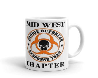 Mid West Chapter Zombie Outbreak Response Team Mug
