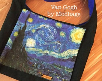 Service Bag JW Ministry Bag Cross-body bag Pioneer Bag Van Gogh Starry Night JW Ministry Bag