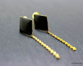 Earrings graphic earrings