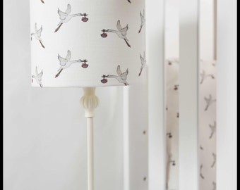 stork lampshade ( base not included )