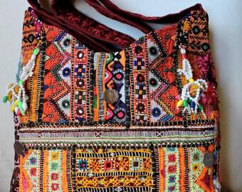 Bag cloak bag gypsy Hobo Ibiza india tribal Banjara Vintage Bohemian