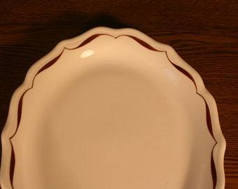 Syracuse China Restaurant Ware Serving Platter Tapestry brown Swirl edge Pattern black friday etsy . cyber monday etsy