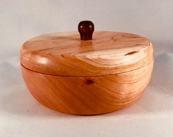 Cherry Lidded Bowl 1