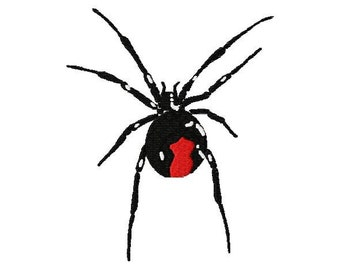 Redback Spider machine embroidery design set of 3  by Letzrock