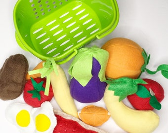 Fleece Produce Basket