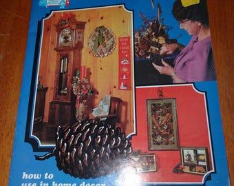 1972 Regal Pine Cone Craft Booklet