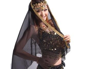 Belly dance veil
