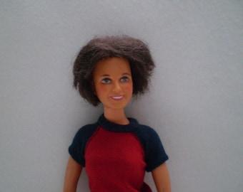 Vintage 1977 Dorothy Hamill Doll Ideal toys
