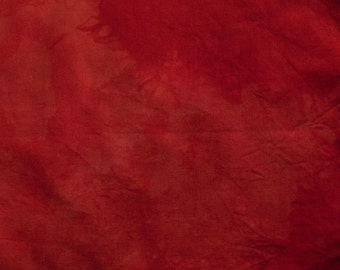 Rust Hand Dyed Quilting Cotton Fat Quarter