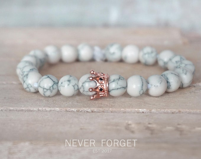 """Featured listing image: Bracelet """"Crown"""" - 17 cm, 19 cm, 21 cm - Rosé gold"""