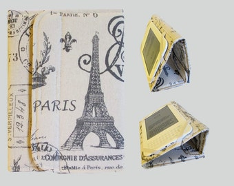 Standable Kindle Cover, Kindle Fire Case, Nook Cover, Kobo Case, Nexus 7 Cover, Kindle Fire HDX, iPad Mini, Dell Venue Paris on Cream