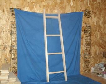 """blanket ladder, rustic blanket ladder, wooden ladder, wood ladder, ladder,wooden blanket ladder 42"""" unfinished, rustic ladder"""