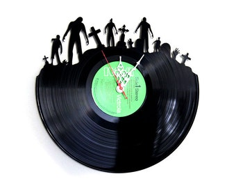 Clock Of The Dead Record Clock Recycled