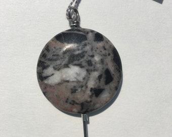 Orifice hook for spinning - stone bead - orifice hook