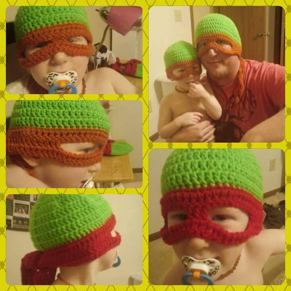 Ninja Turtle Mask, Ninja Turtle Birthday Party, Ninja Turtle Costume for Girls Boy Adult Women Baby, Ninja Turtle Gift, TMNT Birthday
