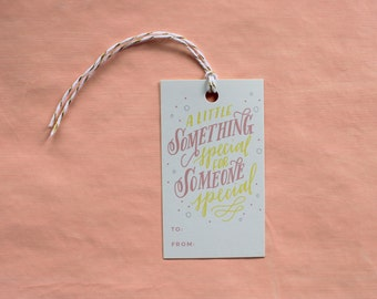 Someone Special Gift Tags | Party Gift Tag Set | Birthday Gift Accessories