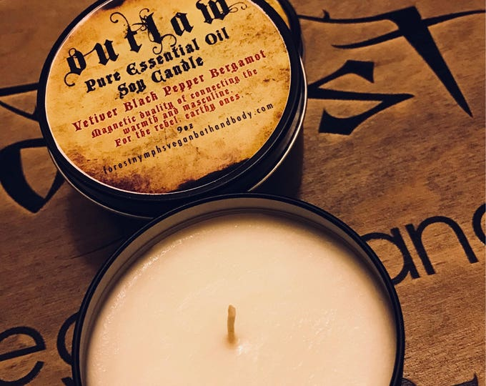 Outlaw Soy Candle