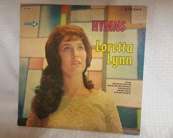 Loretta Lynn Hymns Vintage Record