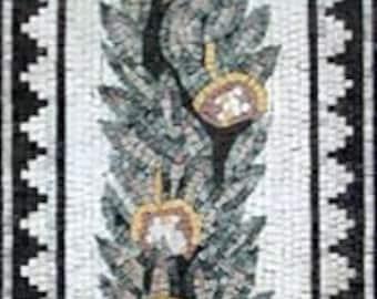 The Plant Tile Mosaic Patterns