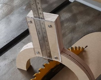 Height Gauge for Table Saw, Router Table or other. *Feel free to make an offer through messages*