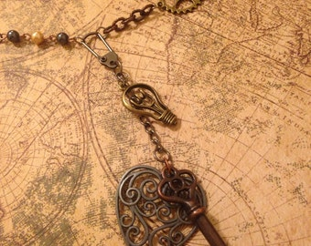 Lux Aeterna Steampunk Necklace