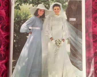 60's Vogue Bridal Sewing Pattern