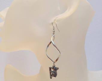 Spiral Rod earrings original koala