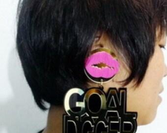 Goal Digger Earrings