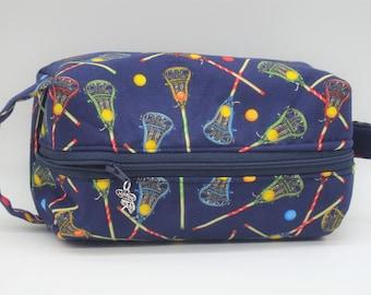 Lacrosse Toiletry Bag, Ditty Bag, Makeup Bag, Travel Pouch, Pencil Case, Snack Bag, Go Bag