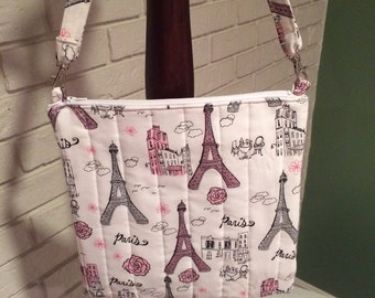 Women's cross body purse (Paris)