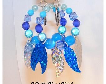 Kind of Designer [BlueBird] - blue earrings