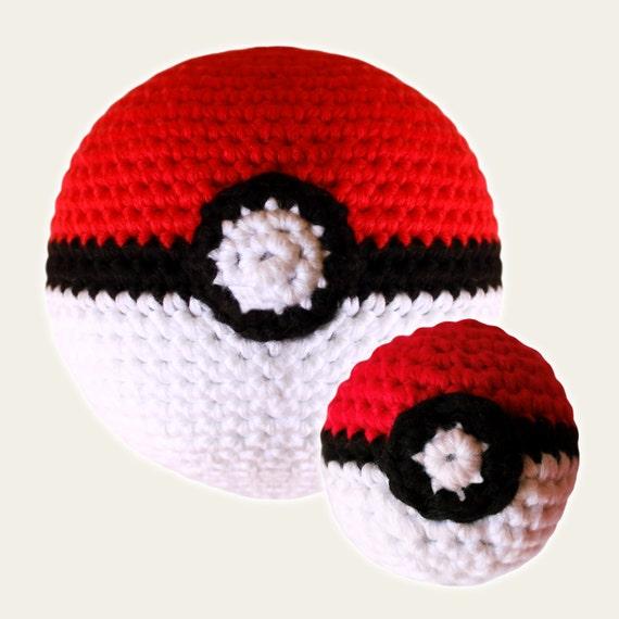 Poke Balls Pack - Pokemon. Amigurumi Pattern PDF.