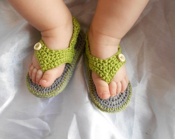 Baby Barefoot Sandals / Baby Photo Prop / Baby Sandals / Baby boy Crochet Shoes / Baby boy Crochet Sandals / Baby boy sandals