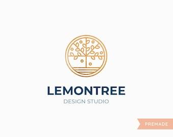 LemonTree: Premade Cusomizable Logo