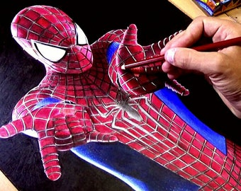 The Amazing Spider-Man 2 Drawing