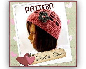 PATTERN - the Dixie Hat  PhotoTutorial - Permission to Sell