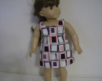 """Dress Made to fit 18"""" Doll such as American Girl"""