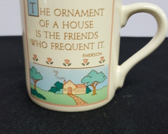"Hallmark Mug Mates 1985 ""Friends"" Mug"