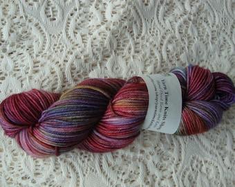 """Hand Dyed Yarn Merino Cashmere Nylon DK """"Love Life"""""""
