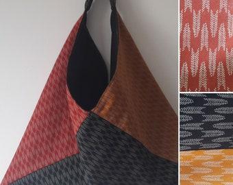 Japanese fabric origami bag.