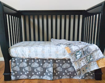 To the Moon and Back Crib Set